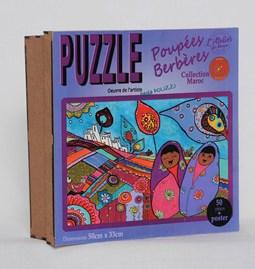 Puzzle poupées berbères