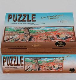Puzzle Croisière Noire - 800 pièces
