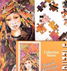 Puzzle beauté amazigh