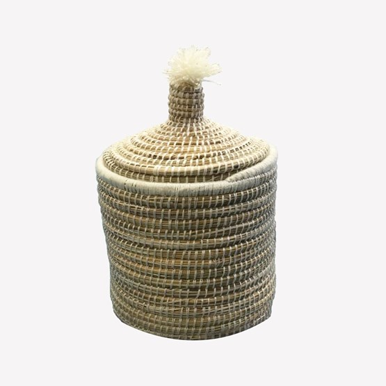 Corbeille en doum - Design : AFRIKAN LAGOM