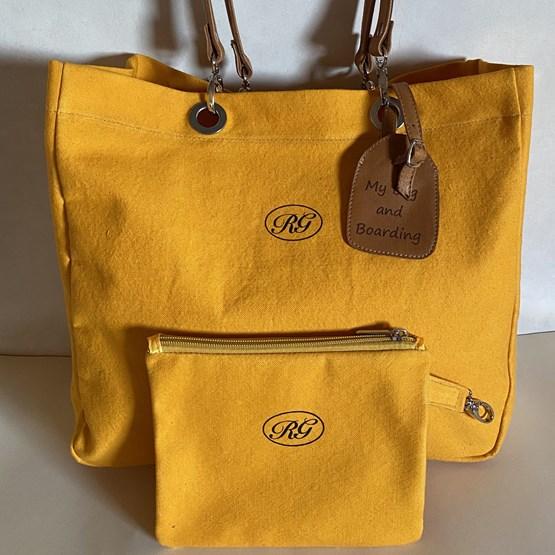 Cabas My bag and boarding   - Design : RAPHAËLA GEMINI