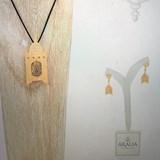 """Pendentif  ou Broche """"La Lanterne"""" - 2 bijoux en 1 5"""