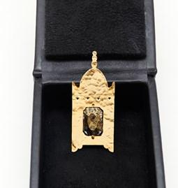 """Pendentif  ou Broche """"La Lanterne"""" - 2 bijoux en 1"""