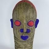 Statue Tête africaine perlée 2