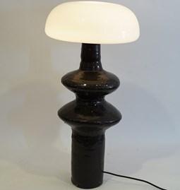 Lampe Tamegroute noir brillant