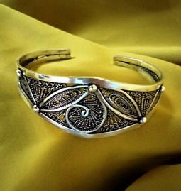 Bracelet Berbère Arabesque