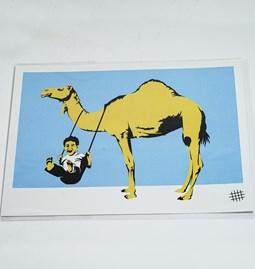 Poster Le dromadaire et l'enfant