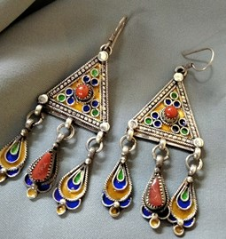 Boucles d'oreilles kabyle