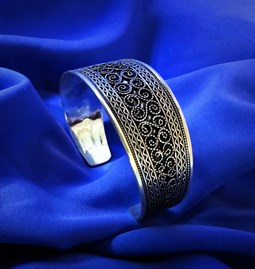 Bracelet manchette berbère