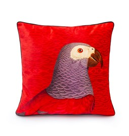 Housse de coussin Velours Parrot