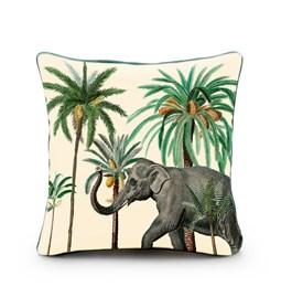Housse de coussin velours Elephant