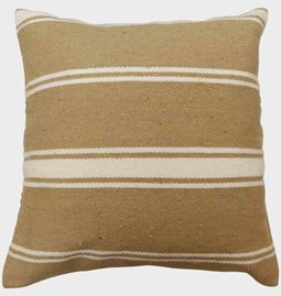 Cushion cover in camel