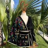 Kimono AMA Design brodé 4