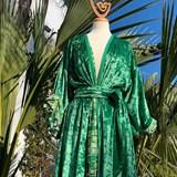 Kimono AMA Design Vert 3