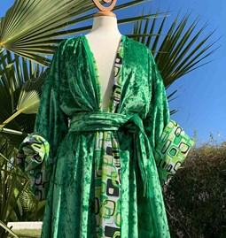 Kimono AMA Design Green