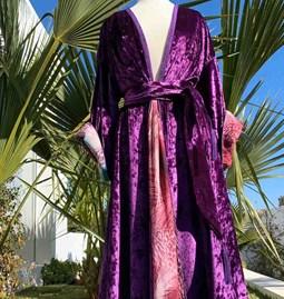 Kimono AMA Design Purple