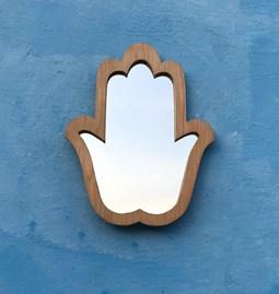 Fatma's hand mirror