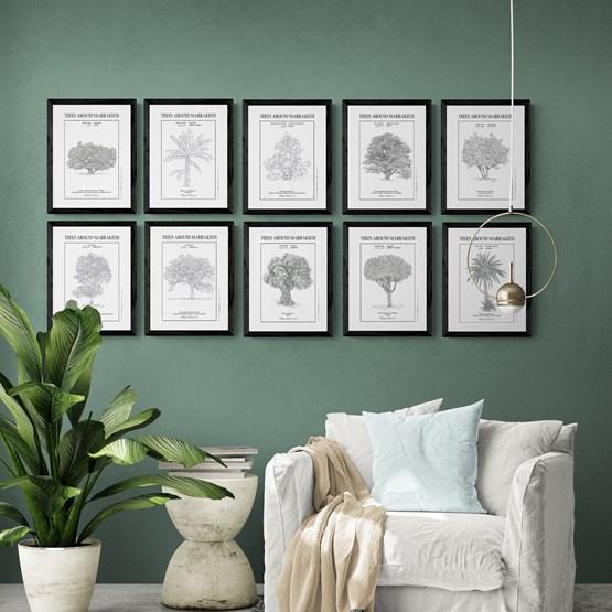 Planche botanique   - Design : THE VINTAGE FACTORY