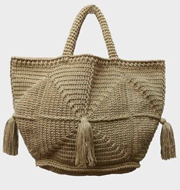 Basket in cotton