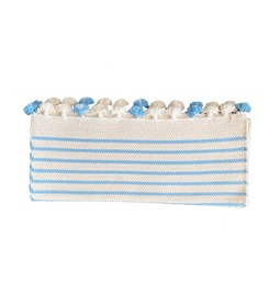 Striped bathmat