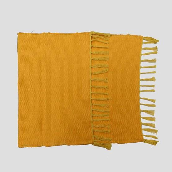 Tapis jaune d'or - Design : COOPERATIVE TISSAGE ARTISTIQUE