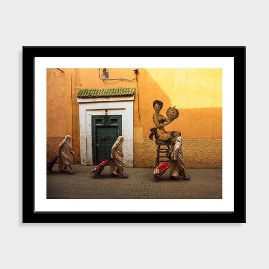 Pin Up Marrakchia Poster - October 2019 - Design : WILII WILII