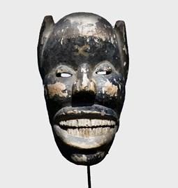 Masque Diable ethnie Ibo