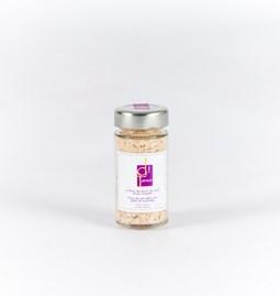Fleur de sel torréfiée Ail rose / Romarin  100g