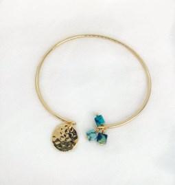 Bracelet Jonc ALCEA vert