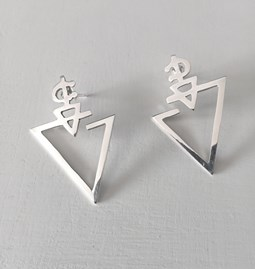 Earrings FIBULA